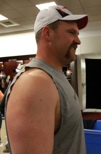 Despite appearing in just nine games, Patriot Logan Mankins made the Pro Bowl and was named All-Pro last season.