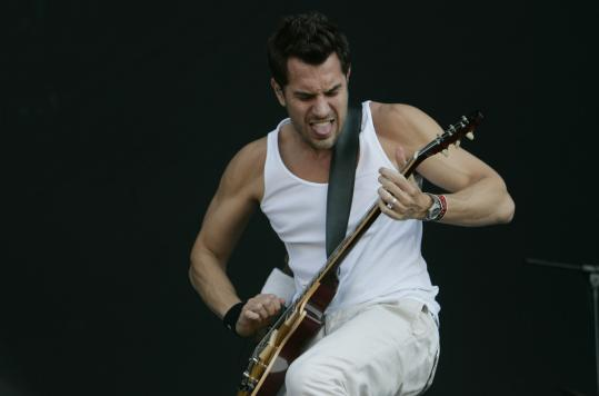 Nick Hexum of 311, pictured in Santiago, Chile, in April, led the band Saturday in Mansfield.