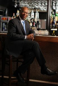 Darryl Settles at his Darryl's Corner Bar & Kitchen, the latest restaurant at the site of Settles's first, Bob the Chef's.