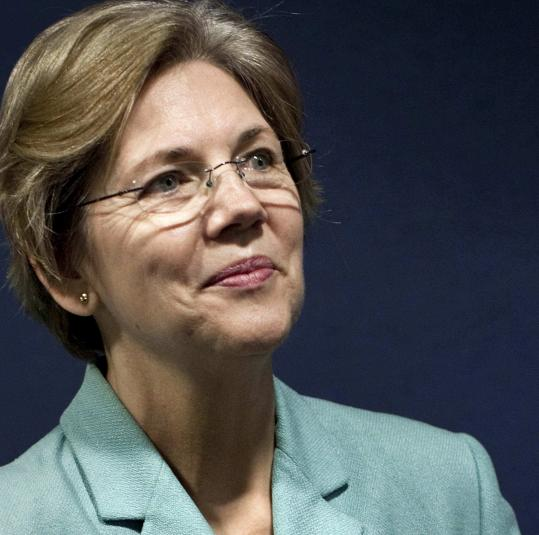 Elizabeth Warren has been mentioned as a possible Senate candidate.