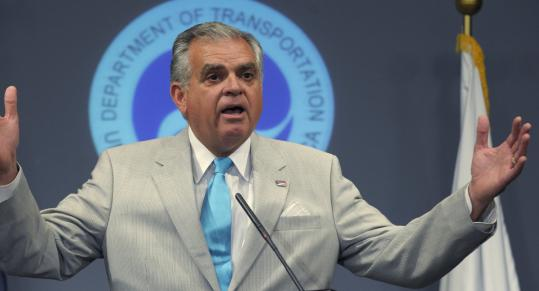 Transportation Secretary Ray LaHood said thousands of federal employees are idle due to congressional inaction.