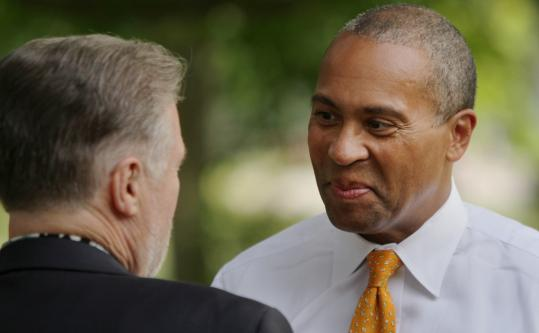 """Governor Deval Patrick says his """"summer conversations'' are his way of interacting directly with state residents."""