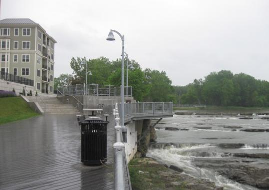 The Winooski Riverwalk Project is one part of the Vermont city's downtown revitalization program.