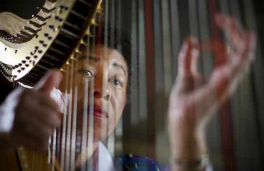 Ann Hobson Pilot, principal harpist for the BSO from 1980 until her retirement in 2009, is the subject of a program that airs tonight on Channel 2.