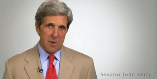 "John F. Kerry's office organized the ""It Gets Better'' video."