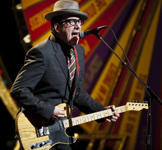 Elvis Costello is slated to appear at the Newport Folk Festival.