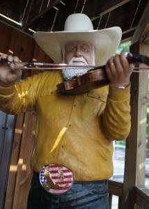The atmosphere at Indian Ranch is decidedly country, with a life-size carving of Charlie Daniels, but this year's lineup includes several pop and rock acts.