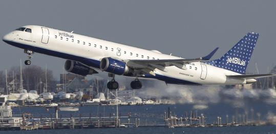 BluePass holders can take unlimited flights from Logan International to any of the 55 JetBlue cities for $1,999.