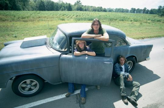 """Director Monte Hellman (below) will have several of his movies screened at the HFA, including 1971's """"Two-Lane Blacktop'' (above) starring Laurie Bird, James Taylor, and Dennis Wilson."""