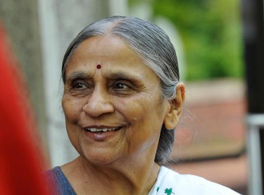 Ela Bhatt, founder of Self Employed Women's Association of India.