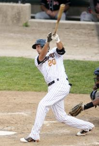 Milford's Chris Colabello is leading the Can-Am League, batting .347.