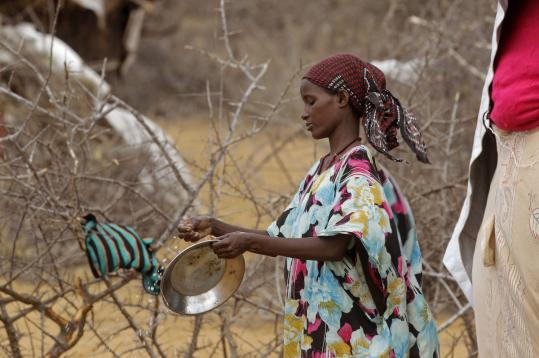 The drought and the famine it has caused in Somalia have affected more than 11.5 million.