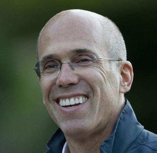 Jeffrey Katzenberg, head of DreamWorks Animation, was the biggest contributor to a pro-Obama organization.