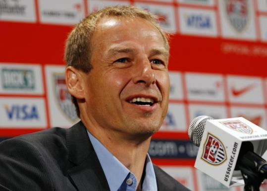Former German great Jurgen Klinsmann says his goal is to adapt the US team&#8217;s style to the nation&#8217;s character.
