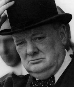 Nassir Ghaemi examines Winston Churchill (pictured), Martin Luther King, and Franklin Roosevelt, among others.
