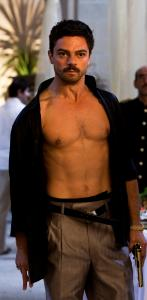 "In ""The Devil's Double,'' Dominic Cooper plays Uday, one of Saddam Hussein's sons, as well as his body double."