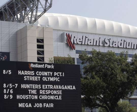 "Only about 8,000 free tickets have been claimed for ""The Response'' event Saturday at Houston's 71,500-seat Reliant Stadium. It is billed as a seven-hour session of Christian atonement."