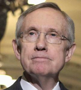 'I believe we should keep Americans working while Congress settles its difference,' Senator Harry Reid said.