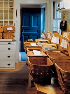 Residents at the MacDowell Colony in Peterborough receive a lunch basket each day so they don't have to stop working.