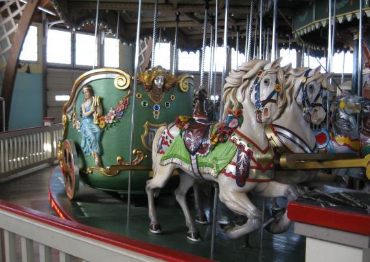 Friends of the Paragon Park Carousel in Hull will gather for a fund-raising event on Friday.