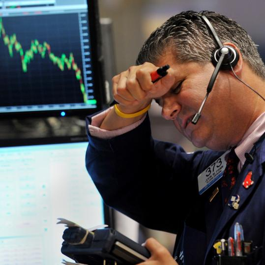 Investors are leaving the turbulent stock market in droves.