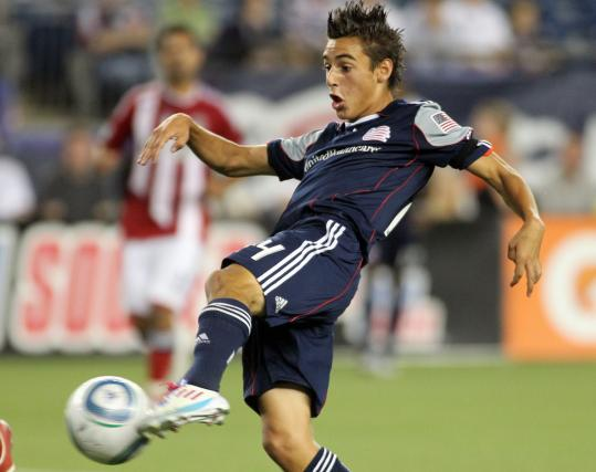Midfielder Diego Fagundez, 16, making his MLS debut, scores in the second half to cut the Chivas USA lead to 3-2.