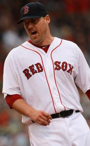 John Lackey needed 115 pitches to improve to 5-1 in his last six starts.