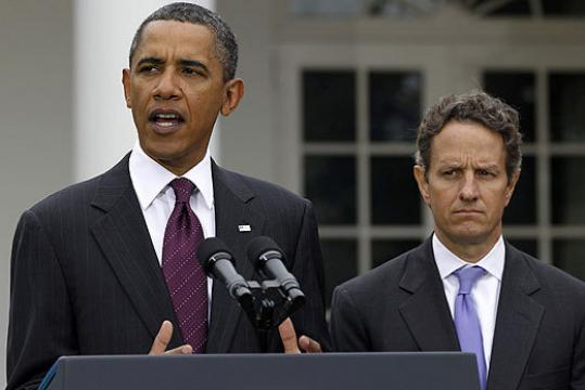 Timothy Geithner had considered leaving his post as Treasury secretary but told President Obama Friday that he would stay.