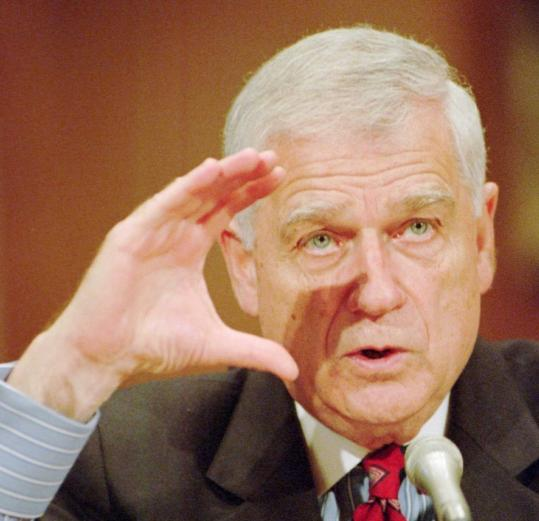 Mark Hatfield, a Republican, was known for his ability to work both sides of the partisan aisle.