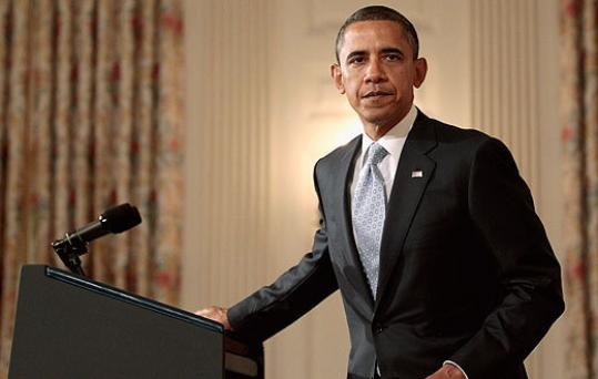 President Obama spoke on the economy at the White House yesterday after US and world financial markets dropped.