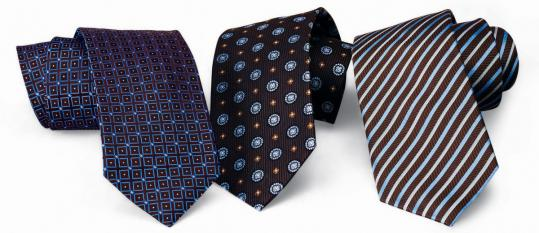 Ties from the Men's Wearhouse.