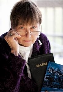 The Rev. Judith Campbell, author of the Rev. Olympia Brown mystery series.