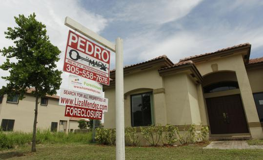 As of the end of June, Freddie Mac held nearly 60,600 foreclosed single-family homes, known as real estate owned, and Fannie Mae reported more than 135,700.