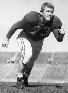 Jerry Smith was a standout at the University of Wisconsin.