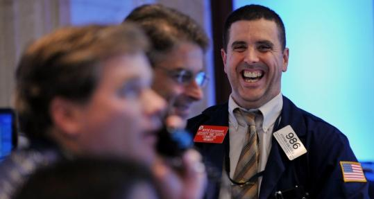 Yesterday's closing bell at the New York Stock Exchange punctuated four days of wild swings.