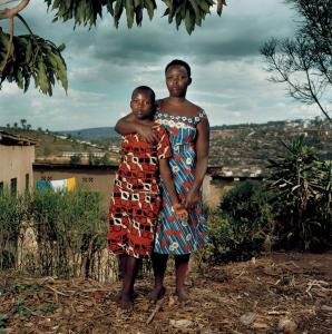 """Josette With Her Son, Thomas'' is one of 25 portraits seen in ""Intended Consequences: Rwandan Children Born of Rape.''"