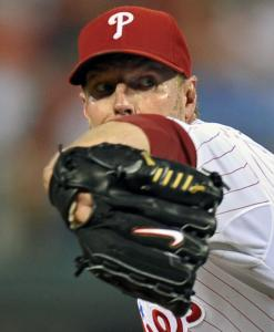 Roy Halladay tied a career high with 14 strikeouts.