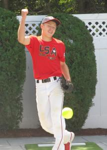 Anthony Aresco, 15, has competed against much older players in the Cambridge league and in tournament games.