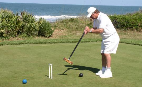 Croquet expert Bob Kroeger will instruct players in the finer points of the game.