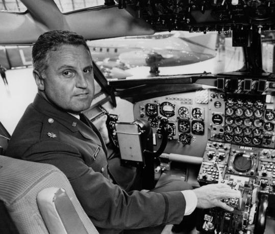 Air Force Colonel Ralph D. Albertazzie also flew former presidents Eisenhower, Lyndon B. Johnson, Ford, Truman, and Hoover.