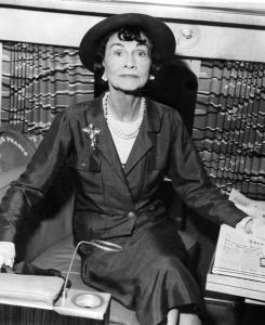 """The new book also says the French fashion designer Gabrielle """"Coco'' Chanel had a wartime affair with a German aristocrat and spy."""