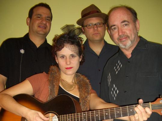 Among those performing at the inaugural Jamaica Plain Music Festival are jump-blues group Erin Harpe & the Delta Swingers.