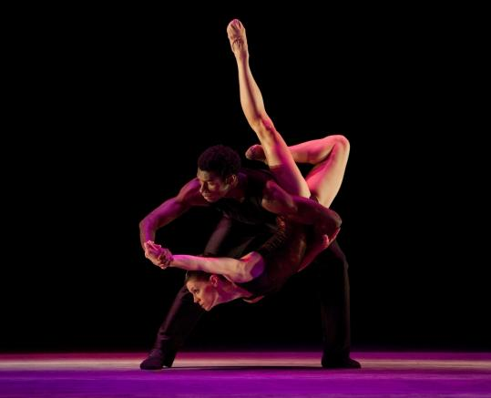 Aspen Santa Fe Ballet dancers Billy Cannon and Katie Dehler performing &#8220;Red Sweet&#8217;&#8217; at Jacob&#8217;s Pillow Dance Festival.