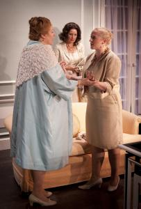 "From left: Diane Prusha, Corinna May, and Rory Hammond in ""Autres Temps . . . '' presented by the Wharton Salon in Lenox."
