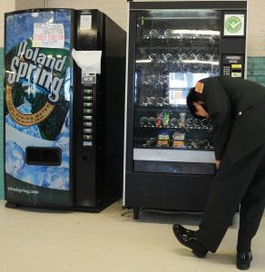 Vending machines in Boston's schools are already limited to healthier snacks.