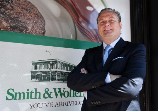 Michael Feighery, Smith & Wollensky's president, said the decision to move the corporate office to Boston helps centralize operations and gives the company's executives easier access to key East Coast outlets.