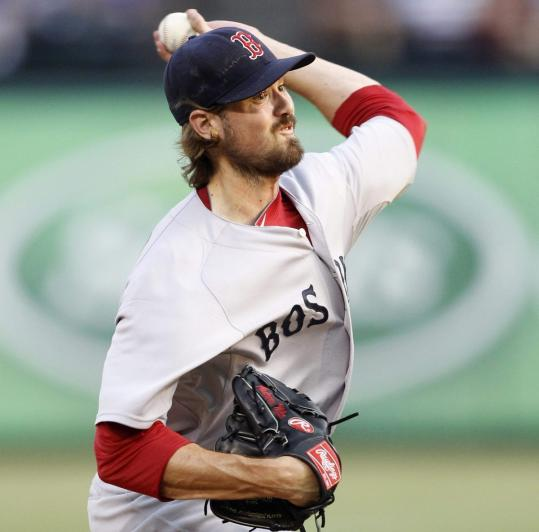 With 6 1/3 shutout innings last night, Andrew Miller has given up just one run over his last two starts for the Red Sox.