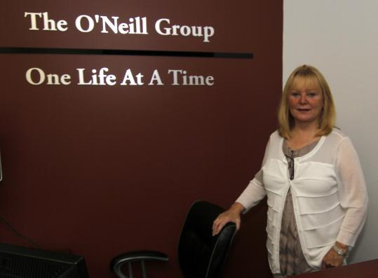 Christine Driscoll O&#8217;Neill uses primarily her own money to operate the career centers in Rockland and Braintree.