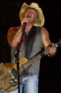 Kenny Chesney at Gillette Stadium Friday during a concert originally scheduled for yesterday.
