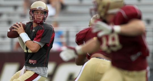 After an inconsistent but promising freshman season, Boston College is eager to see what quarterback Chase Rettig can do in his sophomore campaign.